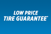 LOW PRICE TIRE GUARANTEE.
